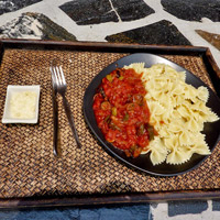 Pasta with Ratatouille
